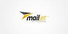 Logo couleur orange et noir de Mailjet